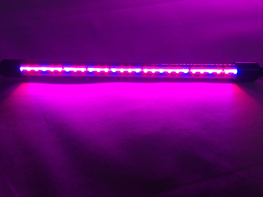 Table desk portable mini double head 24w led grow light for hydroponic light